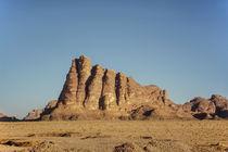 Die Sieben Säulen der Weisheit, Wadi Rum, Jordanien von Christoph  Ebeling