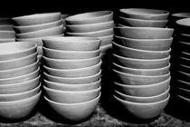 Pottery bowls by Gaspar Avila