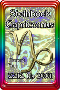 10 Steinbock - Capricornus von Norbert Hergl