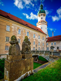 The castle of Nové M?sto nad Metují, Czech Republic von Zoltan Duray