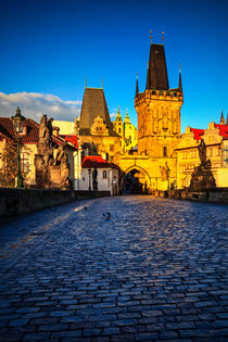 Lesser Town Bridge Tower in Prague von Zoltan Duray