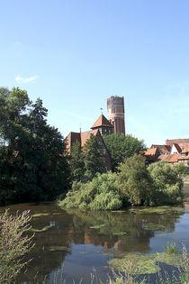 Lüneburger Ratswassermühle trifft Wasserturm von Anja  Bagunk