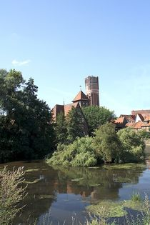 Lüneburger Ratswassermühle trifft Wasserturm by Anja  Bagunk