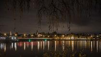 Skyline von Kettwig bei Nacht by Bernhard Stiegler