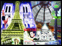 Paris Collage von Birgit Wagner