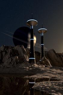 Planetenoberfläche by dresdner