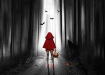 Rotkäppchen und der Wolf von Monika Juengling