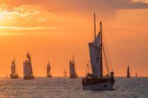 Segelschiffe auf der Ostsee von Rico Ködder