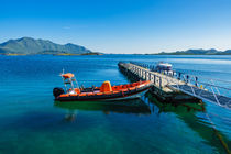 Küste auf den Lofoten in Norwegen. by Rico Ködder