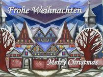 Weihnachtsstimmung in der Stadt 001 von Norbert Hergl
