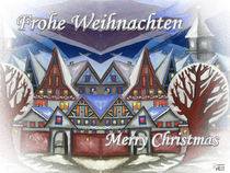 Weihnachtsstimmung in der Stadt 004 von Norbert Hergl