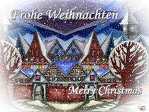 Weihnachtsstimmung in der Stadt 003 von Norbert Hergl
