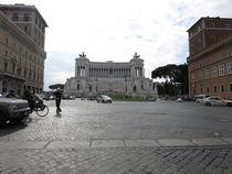 Die Schreibmaschine / Monument a Vittorio Emanuele ll  by yvi-mueller