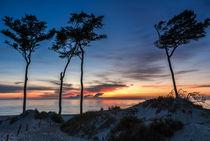 Weststrand Sonnenuntergang