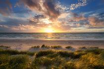 Sonnenuntergang am Ostseestrand
