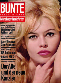 Brigitte Bardot: BUNTE Heft 40/63 von bunte-cover