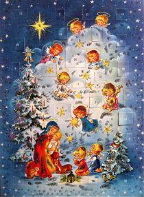 historischer Adventskalender by assy