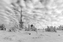 Auf dem Brocken im Winter von Andreas Levi