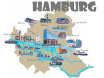 hamburg stadtplan poster hamburg stadtplan kunstdrucke online kaufen artflakes com. Black Bedroom Furniture Sets. Home Design Ideas