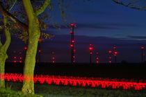 Lichtstreifen by J.A. Fischer