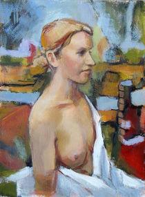 Weiblicher Halbakt 1 by alfons niex