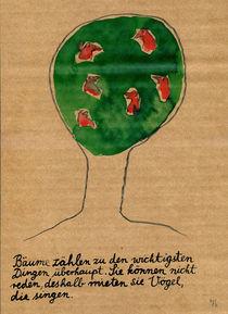 Wie das ist mit den Bäumen by Victor Koch