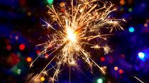 Christmas sparkle lights