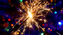 Christmas sparkle lights von Tomas Gregor