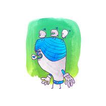 Freunde mit Hüten (Hatted Beings) von Frank Schulz