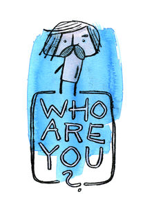 Wer bist Du? (Who are you?) by Frank Schulz