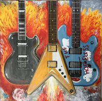 Rock Guitars by David Redford