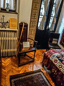 Old Chairs from George Enescu House by Enache Armand Iustinian
