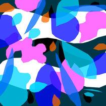 Blauer Traum von Albert Weber