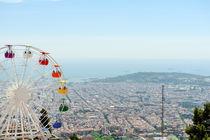 Barcelona panoramic view von Tania Lerro