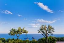 Amalfi Coast sea by Tania Lerro