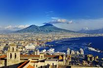 Naples panoramic view, Italy von Tania Lerro