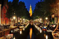 Amsterdam night view by Tania Lerro