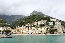 Cetara panoramic view, Amalfi Coast by Tania Lerro