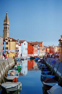 Burano, Venice, Italy by Tania Lerro