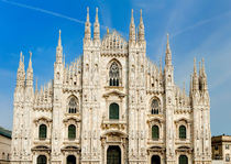 Milan Cathedral, Italy by Tania Lerro
