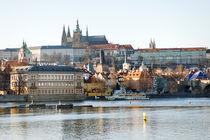 Prague panoramic view, Czech Republic by Tania Lerro