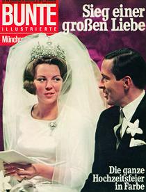 Beatrix der Niederlande: BUNTE Heft 10/66 von bunte-cover