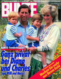 Diana & Charles: BUNTE Heft 39/86 by bunte-cover