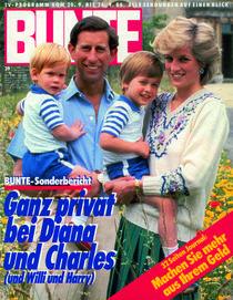 Diana & Charles: BUNTE Heft 39/86 von bunte-cover