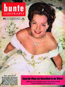 Romy Schneider: BUNTE Heft 3/58 by bunte-cover