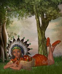 Indianerin2 von Conny Dambach