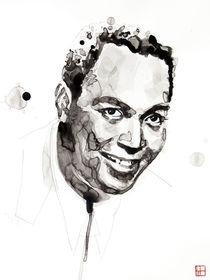 Portrait of Charlie Parker von Philippe Debongnie