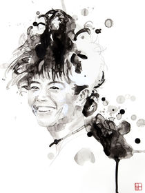 Portrait of Hiromi Uehara von Philippe Debongnie