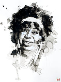 Portrait of Ma Rainey von Philippe Debongnie