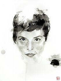 Portrait of Mélanie De Biasio von Philippe Debongnie